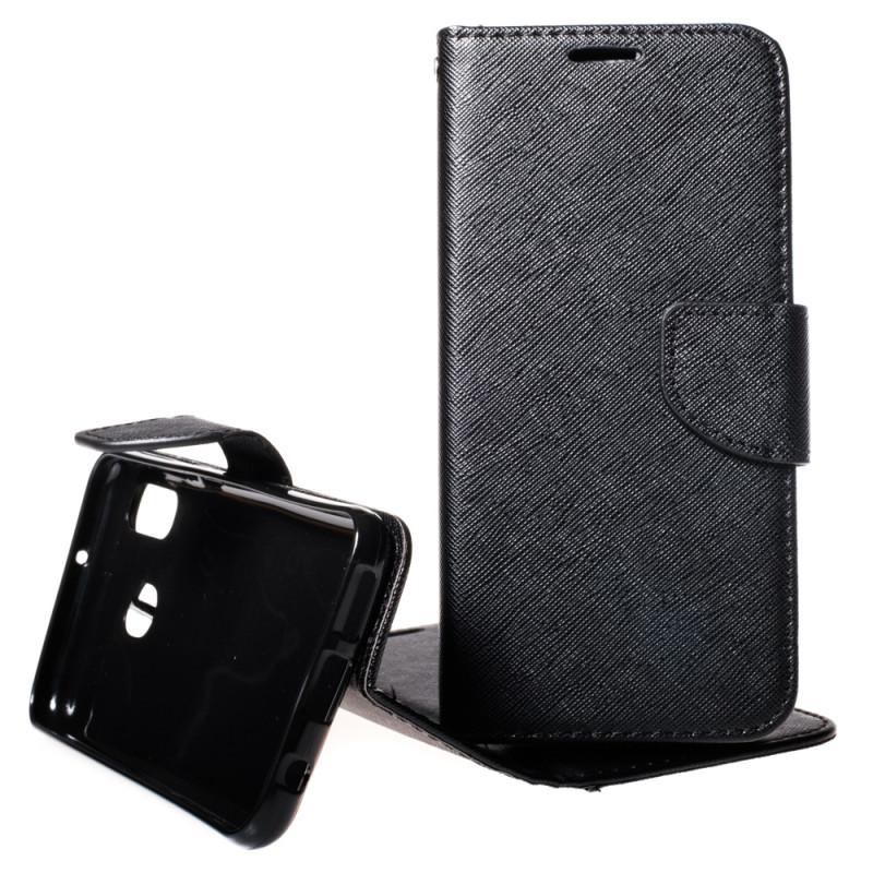 Pouzdro TEL1 Fancy Diary Samsung Galaxy A20e A202 Černé