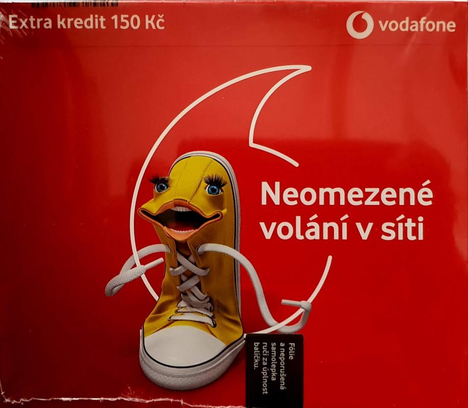 Vodafone Karta Pre Partu 30 Dni Neomezeneho Volani Kredit 100