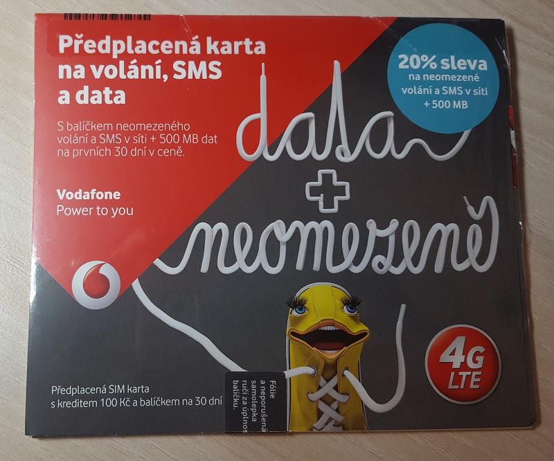 Vodafone Karta Datuj 200kc Mojamobilka Sk