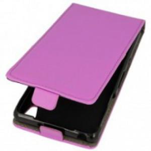 Pouzdro Forcell Slim Flip 2 flexi Huawei Ascend P8 Fialové
