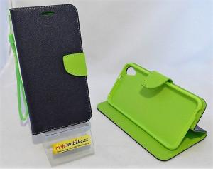 Pouzdro TEL1 Fancy Diary HTC Desire 820 Modré