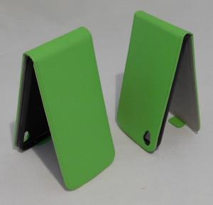 Pouzdro ForCell Slim flip flexi Alcatel One Touch IDOL 3 6039Y 4.7 Zelené