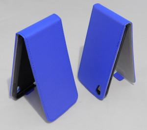 Pouzdro Forcell Slim Flip 2 flexi Alcatel One Touch IDOL 3 6039Y 4.7 Tmavě Modré