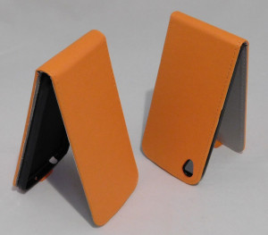 Puzdro Forcell Flip Flexi Alcatel One Touch IDOL 3 6039Y 4.7 Oranžové