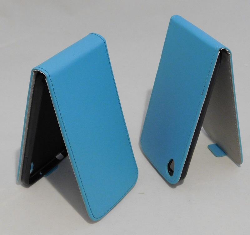 Pouzdro Forcell Slim Flip 2 flexi Alcatel One Touch IDOL 3 6039Y 4.7 Světle Modré