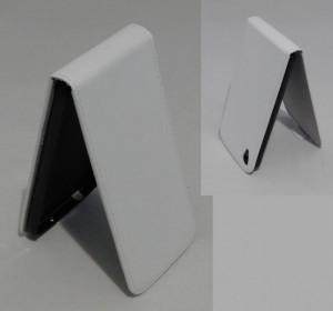 Puzdro ForCell Slim Flexi Alcatel One Touch IDOL 3 6039Y 4.7 Bílé