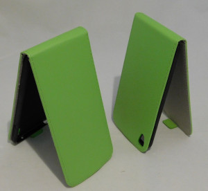 Pouzdro ForCell Slim flip flexi Alcatel One touch IDOL 3 6045Y 5.5 Zelené