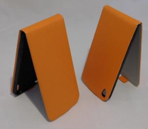 Puzdro Forcell Flip Flexi Alcatel One touch IDOL 3 6045Y 5.5 Oranžové
