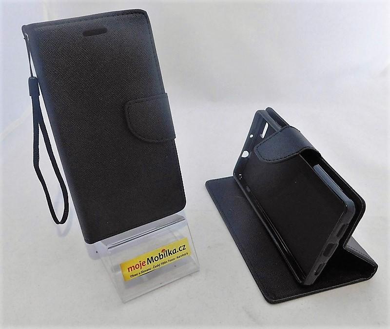 Puzdro Fancy Case HUAWEI P8 Lite Černé