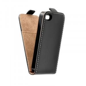 Pouzdro ForCell Slim Flip Flexi Iphone 4G černé