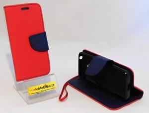 Pouzdro TEL1 Fancy Diary Nokia 230 Červené
