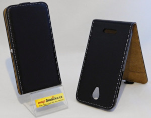 Pouzdro Forcell Slim Flip Flexi ALCATEL POP 4 5051D Černé