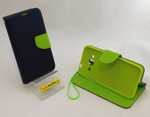 Fancy Book Samsung J320 Galaxy J3 2016 navy/lime