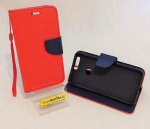 Pouzdro TEL1 Fancy Diary Huawei Honor 8 Červené