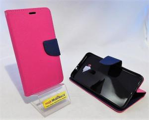 Puzdro Fancy Book - ASUS Zenfone 3 ZE552KL Růžové