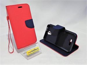 Puzdro Telone Fancy Alcatel Pop 4 5051D Červené