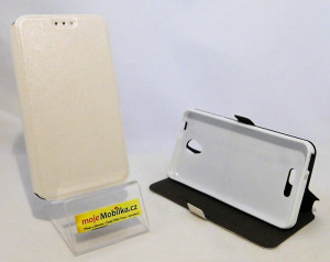 Pouzdro Book Flexi Pocket Alcatel POP 4 5051D Bílé