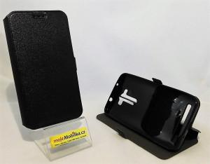Pouzdro Book Flexi Pocket Asus Zenfone 2 Laser ZE550KL 5.5 Černé