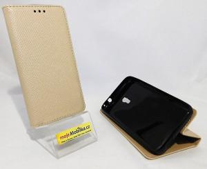 Puzdro Smart Magnet Vodafone Smart Turbo 7 Zlaté
