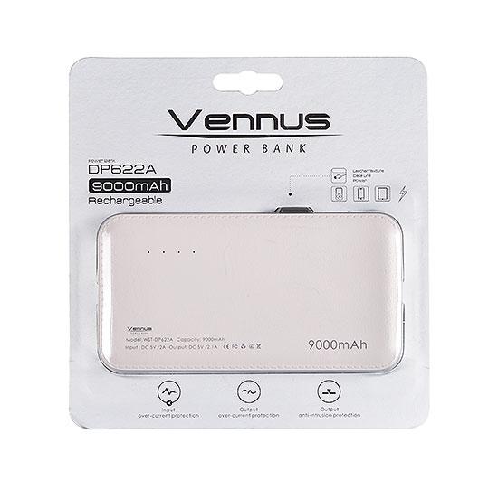 Vennus Power Banka 9000mAh DP662A bílá