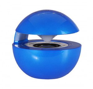 REPRODUKTOR MULTIMEDIÁLNÍ BLUETOOTH LED BALL modrá