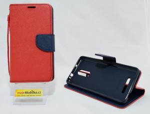 Pouzdro Fancy Diary Xiaomi Redmi Note 3 - červené