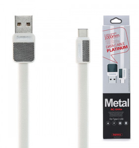 Remax REMAX Kabel USB Platinum RC-044a Typ C bílá