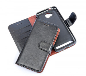Pouzdro Magnet Twin 2v1 - Huawei Y3 II černé
