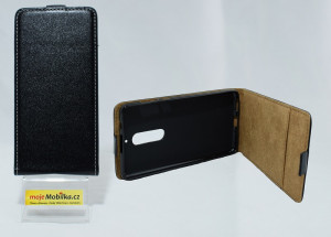 Pouzdro Forcell Slim Flip Flexi Nokia 5 2017 Černé
