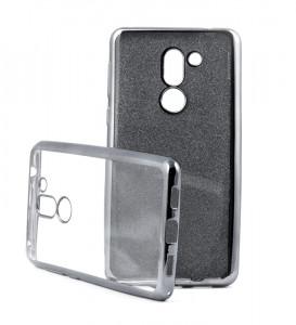 Puzdro Glitter Case Elektro Honor 6X Černé