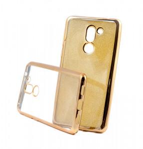 Puzdro Glitter Case Elektro Honor 6X Zlaté