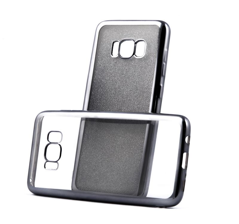 Pouzdro Glitter Case Elektro Samsung Galaxy S8 Black