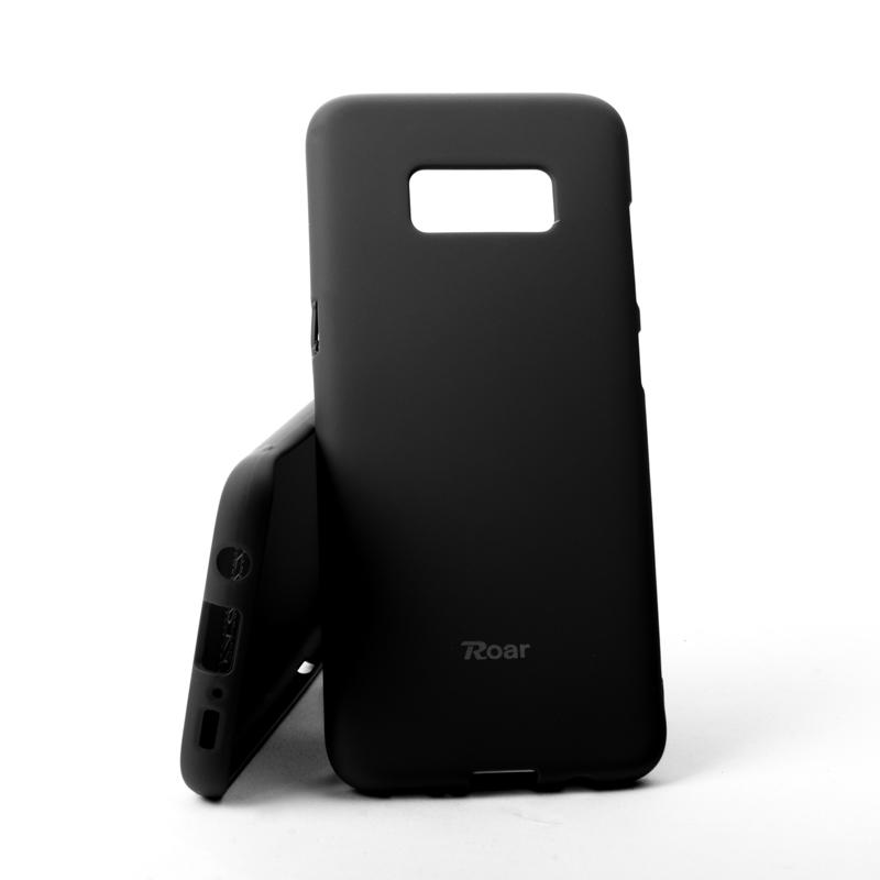 Pouzdro Roar Colorful Jelly Case Samsung Galaxy S8 G950 Černé