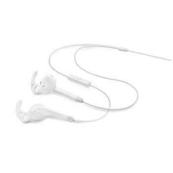 FIXED EGG3 sportovní sluchátka s mikrofonem bílá