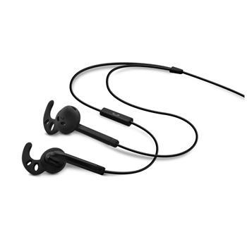 FIXED EGG3 sportovní sluchátka s mikrofonem černá