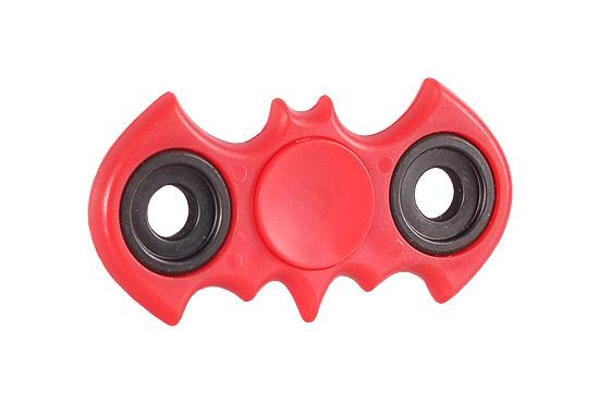 Antistresový Fidget Spinner Batman Červený