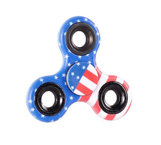 Antistresový Fidget Spinner - Finger spin USA