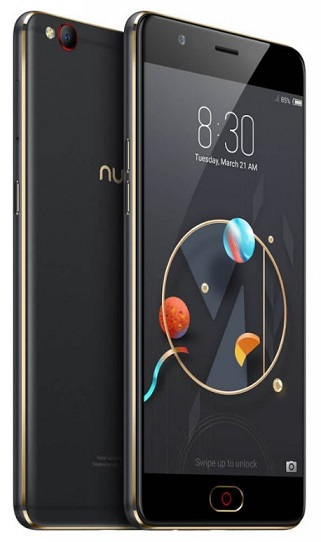 Nubia M2 Lite DS 3+64GB Black/Gold