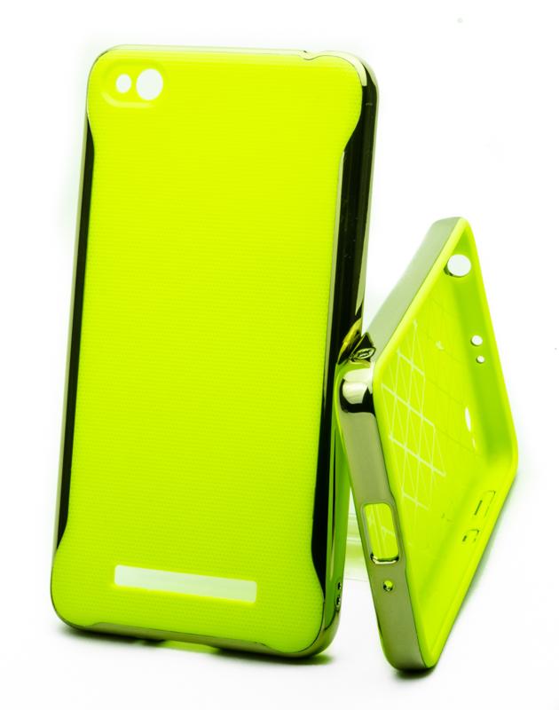 Pouzdro Neon Case Xiaomi Redmi 4A Zelené