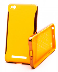 Pouzdro Neon Case Xiaomi Redmi 4A Oranžové