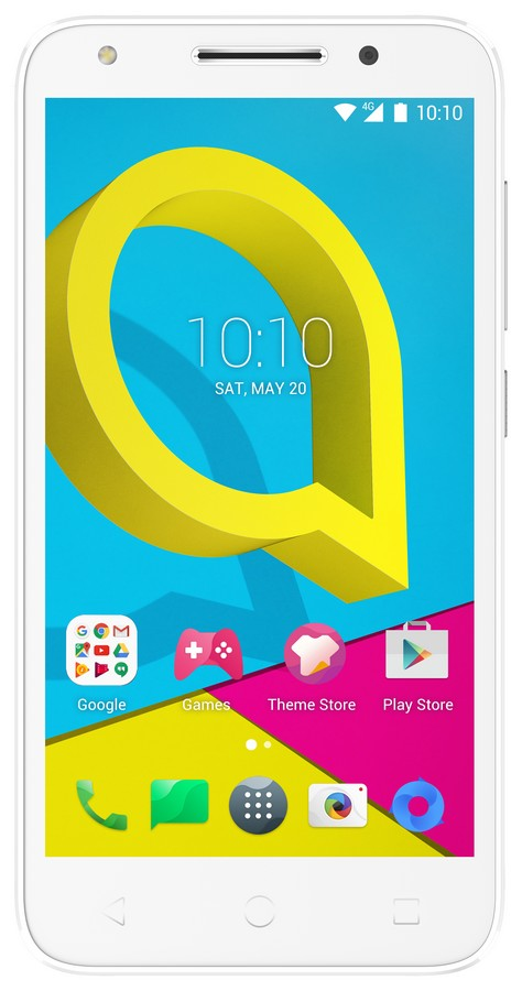 Alcatel U5 3G 4047D Pure White/Light Grey