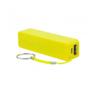 BLUN power banka Perfume 2600mAh žlutá