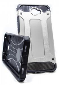 Pouzdro Armor Neo Huawei Y7 Silver