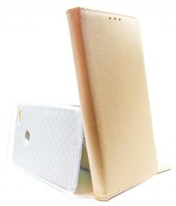 Pouzdro Smart Magnet Xiaomi Redmi Note 5A Zlaté