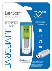 Lexar JumpDrive 32GB S50 LJDS50-32GABEU