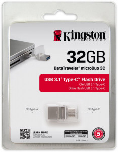 Kingston DataTraveler microDuo 3C 32GB DTDUO3C/32GB