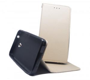 Pouzdro Smart Magnet Alcatel U5 4047D Zlaté