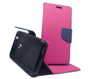 Pouzdro Fancy Case Alcatel U5 4047D Růžové