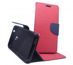 Pouzdro Fancy Case Alcatel U5 4047D Červené
