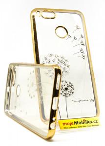 Puzdro Diamonds TPU Xiaomi Mi A1 Pampeliška